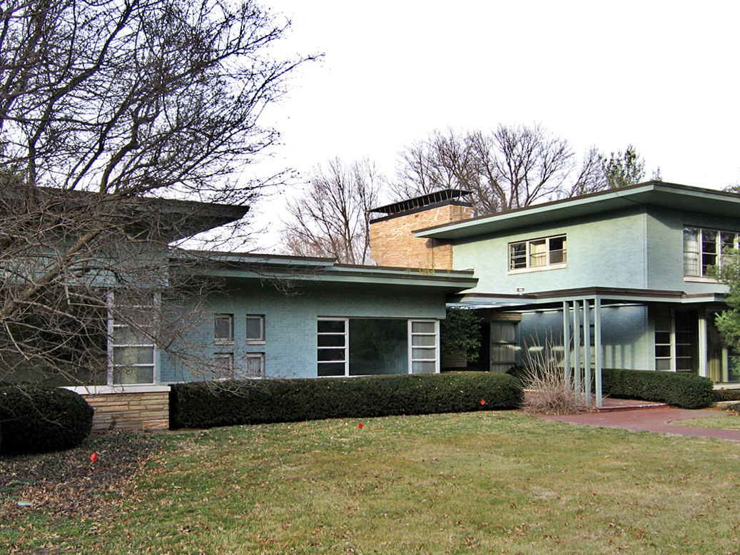 childhood memories of a ladue mcm teardown - Mid Century Modern Home Exterior Paint Colors