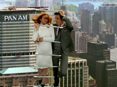 The Pan Am building is real, the rest is Hollywood