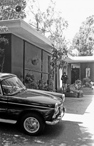 Entrance to Shulman's home. Photo by David Laslie.