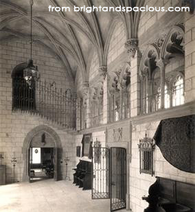 Entry hall of La Ronda