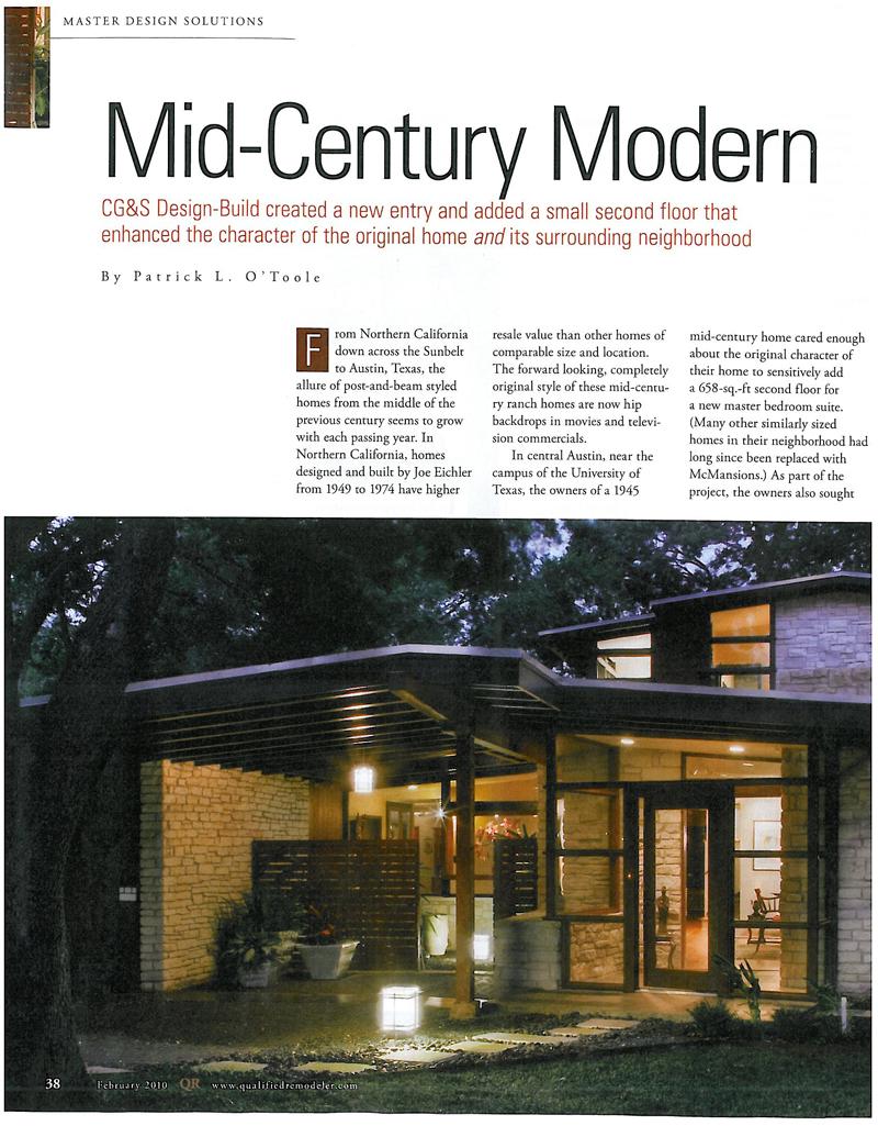 mid-century modern remodeling - b.e.l.t.