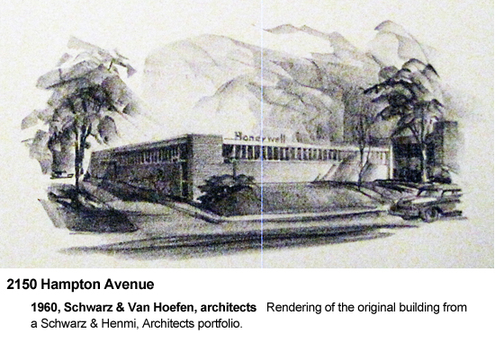 2150 Hampton Avenue, building by Schwarz & Van Hoefen
