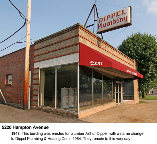 5220 Hampton Avenue, Dippel Plumbing, photo by Toby Weiss
