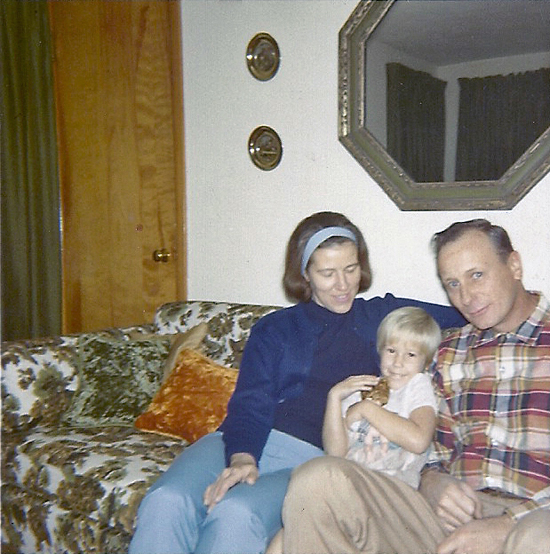 Barb, Toby & Richard Weiss, 1968 in Ferguson MO, 509 Teston Dr
