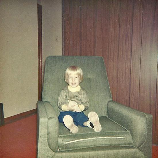 Toby Weiss inside 509 Teston Dr Ferguson MO 1967