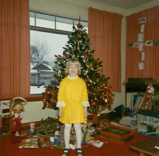 Christmas 1969 at 509 Teston Dr Fergsuon MO