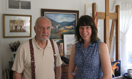 Ralph Fournier and Toby Weiss, July 3, 2011.