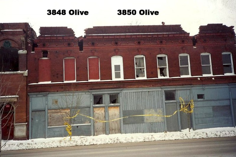 3848 Olive was the site of a St. Louis brothel from 1947 - 1954.