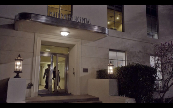 Masters of Sex depicts Maternity Hospital a sublime, stucco Art Deco.