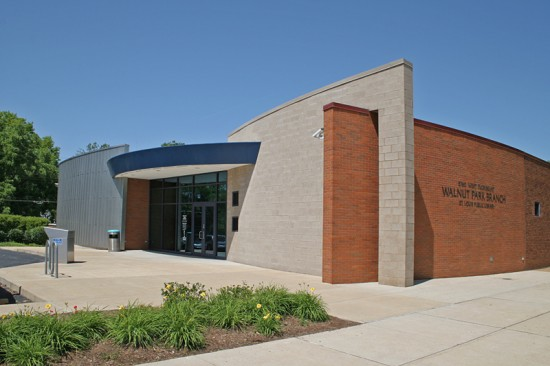 5760 West Florissant is the Walnut Park branch of the St. Louis public library. The original building moved here in 1971, and was remodeled in the early 2000s.