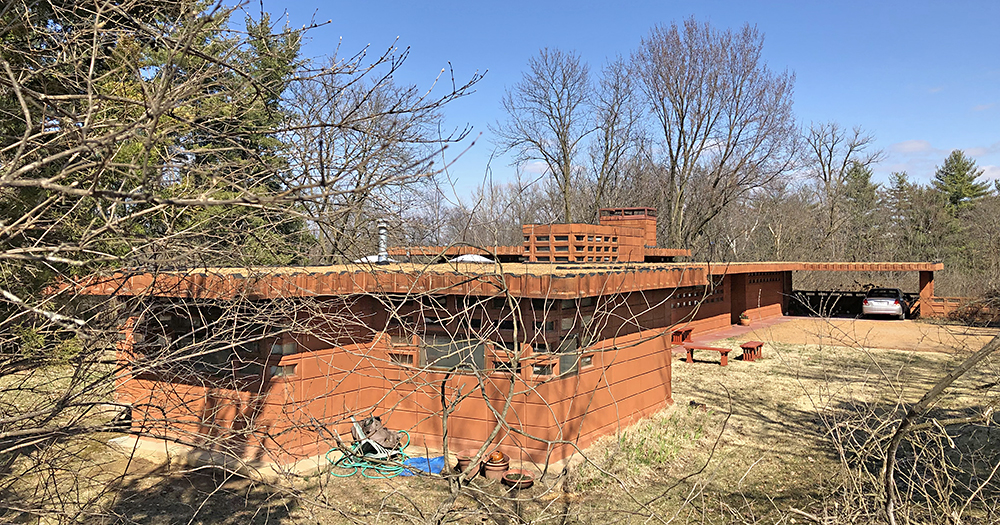 Pappas House in St. Louis MO by Frank Lloyd Wright